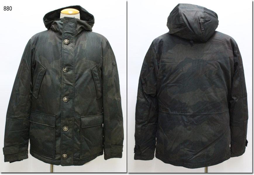 AT.P.CO 【アティピコ】 N-3B迷彩中綿ジャケット サーモライト AU191030