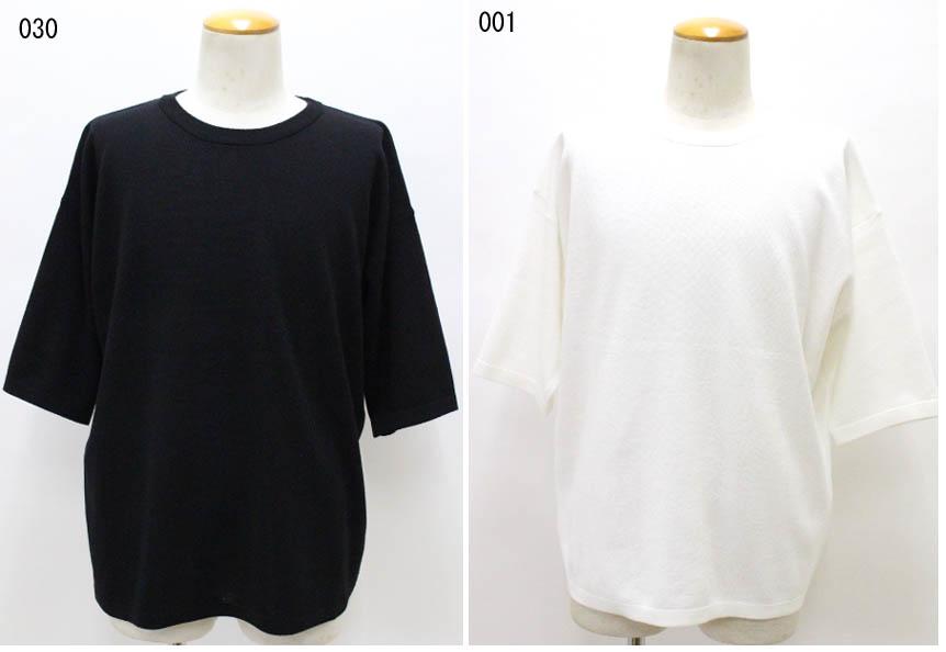 Johnbull 【ジョンブル】スリークオータースリーブニット 半袖 セーター  25594