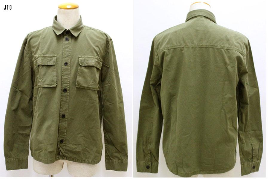 DR.DENIM 【ドクターデニム】 ワークシャツ ワークジャケット ミリタリー  2011111