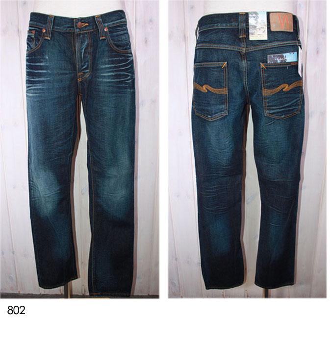 NUDIE jeans 【ヌーディージーンズ】 ストレートジーンズ GRIM TIM 33161-1098 【10P09Jul16】