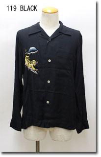 TOYO ENTERPRISE 【東洋エンタープライズ】 総刺繍 レーヨンスカシャツ TT27402