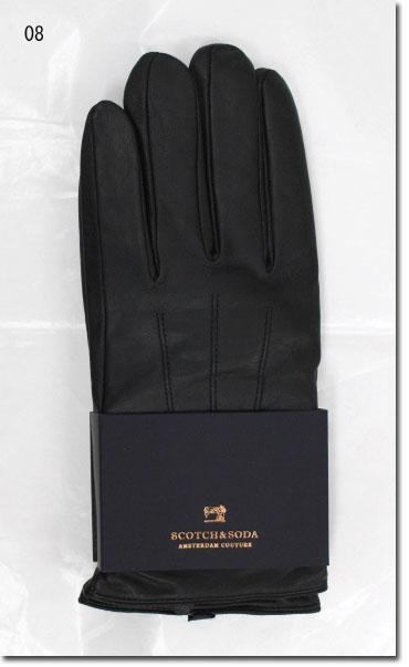 SCOTCH&SODA【スコッチ&ソーダ】 レザーグローブ 手袋 やぎ革  292-28705【10P09Jul16】