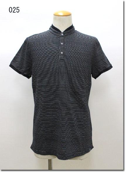 NO EXCESS 【ノーエクセス】 ヘンリーネック ポロシャツ NE350282-71