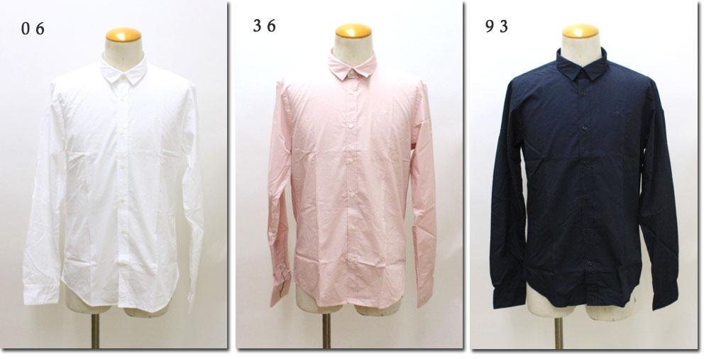 SCOTCH&SODA 【スコッチ&ソーダ】 長袖ドレスシャツ CRISPY POPLIN CLASSIC SHIRT 292-41409