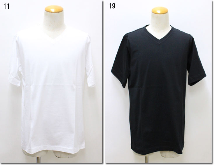 TOMORROWLAND 【トゥモローランド】 スヴィンジャージーVネックTシャツ 63-11-82-11101