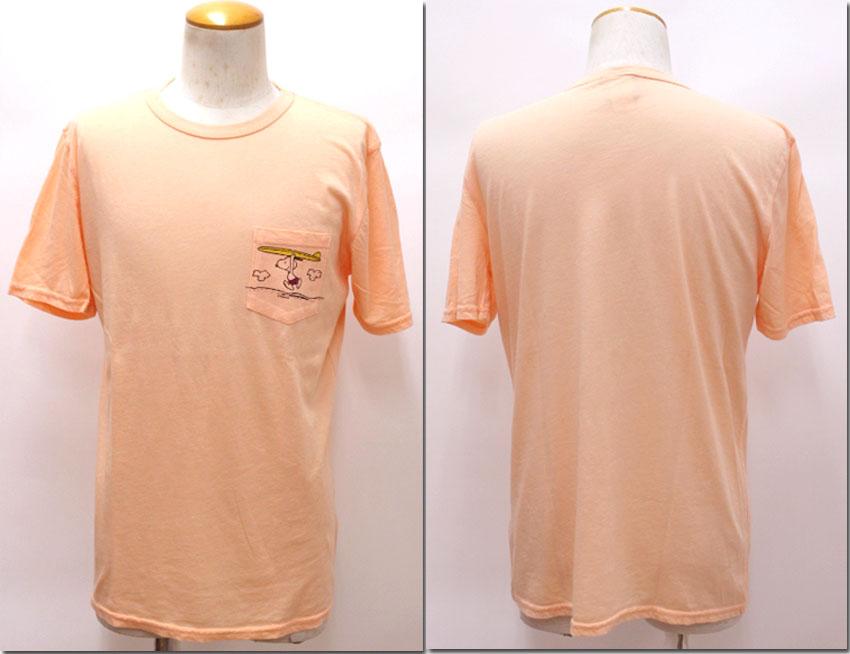 3 最新アイテム 980円 税込 ついに再販開始 以上購入で送料無料 JUNK Tシャツ スヌーピーポケットプリント ジャンクフード P1076-7803 FOOD