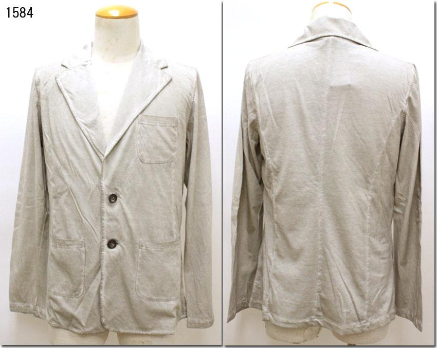 V NECK 【ヴイネック】一重ジャケット カーディガン 羽織り  MADE IN ITALY VN1747048