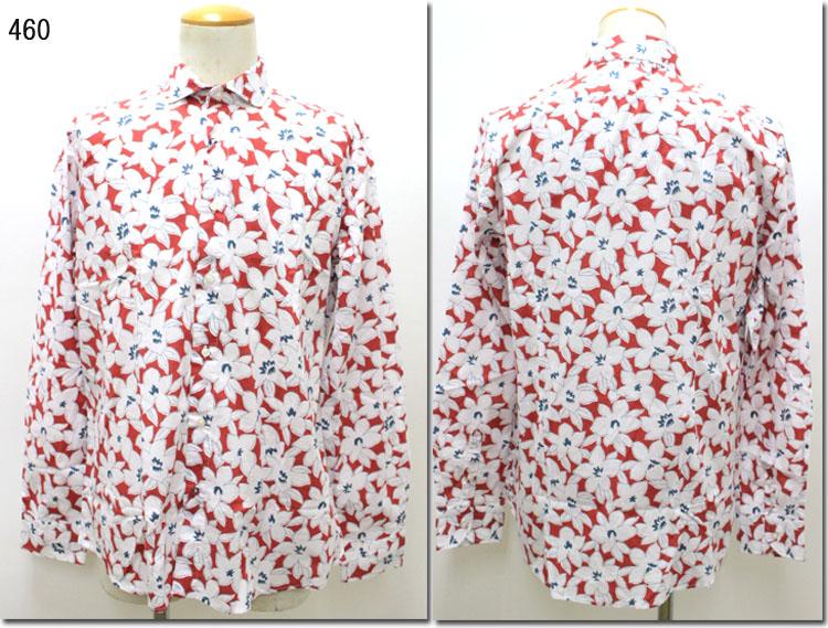 AT.P.CO 【アティピコ】 フラワー柄レギュラーカラーシャツ AU174730 【10P09Jul16】