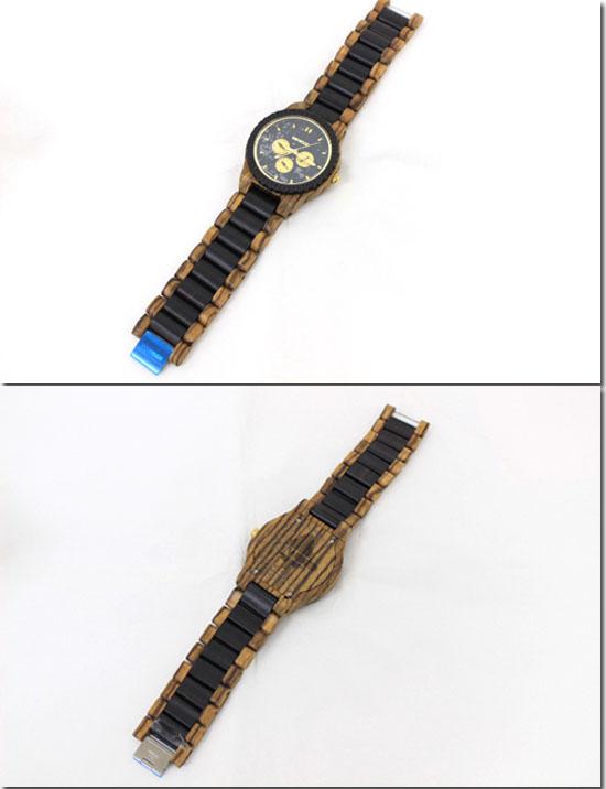 WE WOOD【ウィーウッド】 木製 腕時計 カッパ ゼブラノ ユニセックス  9818110