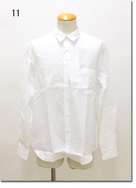 TOMORROWLAND EST【トゥモローランドエスト】 140/2ポプリン レギュラーカラーシャツ 63-01-74-01001-TN