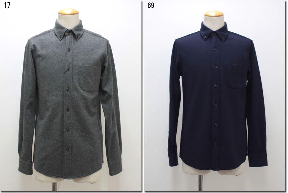 Blue Work【ブルーワーク】 ウールリブ切替シャツ 54-01-54-01115-HN 【10P09Jul16】