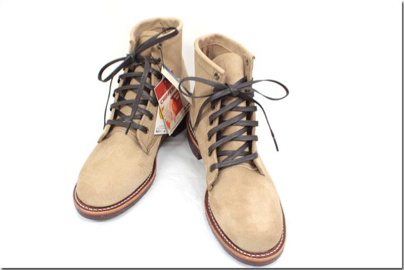 CHIPPEWA【チペワ】 6 inch Suede Utility Boots  スウェード レースアップブーツ ユーティリティーブーツ 1901G27 【10P09Jul16】