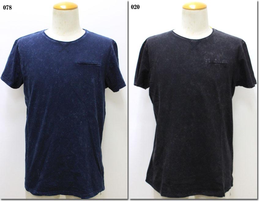 3 980円 税込 市場 以上購入で送料無料 NO ノーエクセス ムラ染めポケットTシャツ 売買 NE340204-81 EXCESS