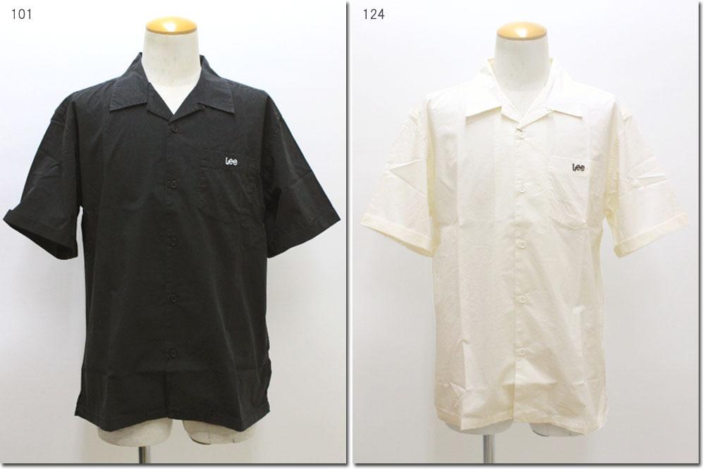3 980円 税込 売れ筋ランキング 倉 以上購入で送料無料 オープンカラーシャツ LT5024 リー Lee