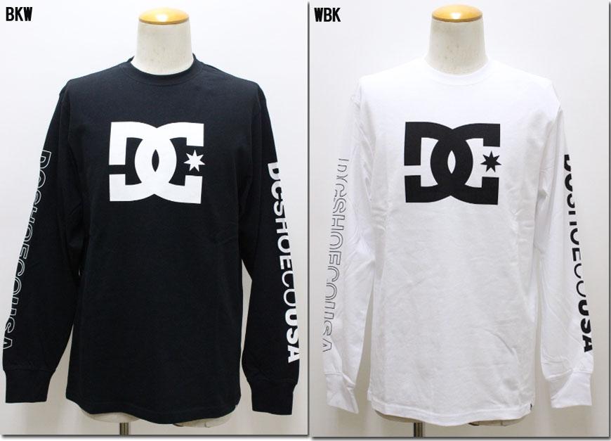 DC SHOES 【ディーシーシューズ】 18 FA STAR LS ロゴプリント ロングTシャツ 長袖 5425J839