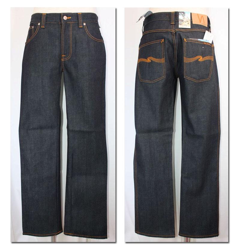 Men's NUDIE jeans 【ヌーディージーンズ】SLIM JIM ストレートジーンズ DRYJAPAN (127) 29161-1008 【10P09Jul16】