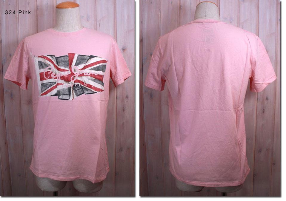 Pepe Jeans 【ペペジーンズ】 イギリス国旗プリント半袖Tシャツ PM500029 【10P09Jul16】
