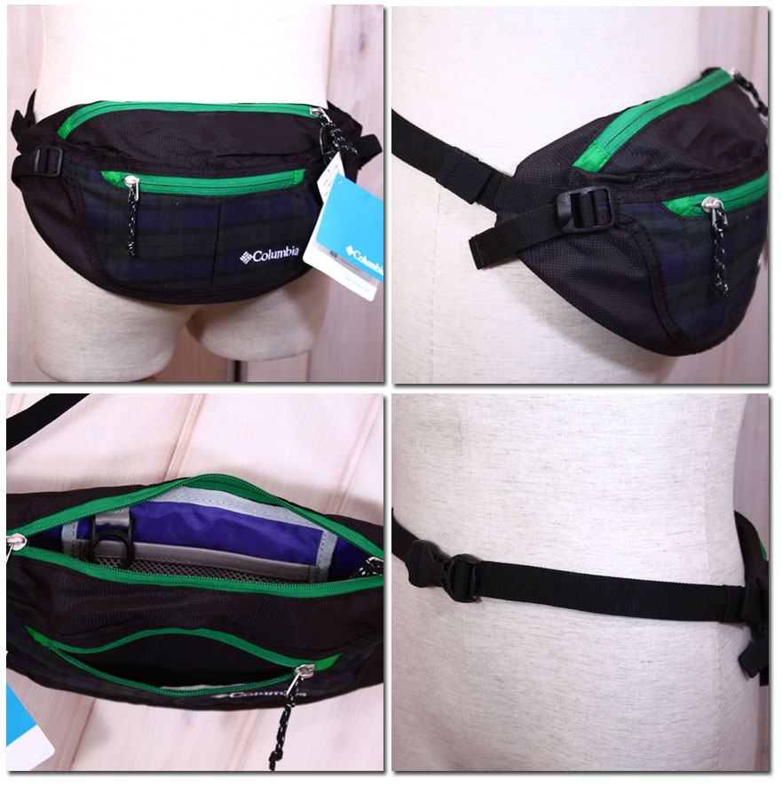 455cca92215eb9 barbizon  Columbia waist bag hip Pack Rey WRAY PU 1471-enabled ...
