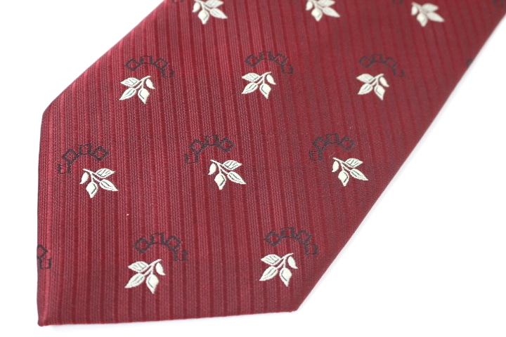 Used brand clothes tie NINO PACOLI Nino pacolli stripe floral tie brand men's suits postage they (* Hokkaido, Okinawa and remote islands is needed) * * 02P24Oct15