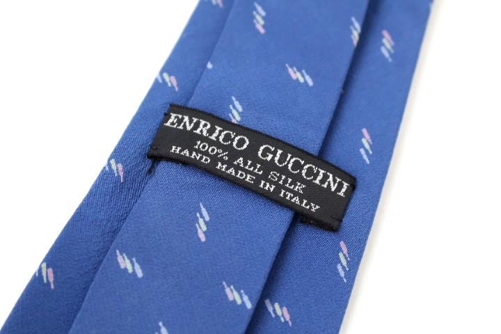 브랜드 헌 옷 넥타이 ENRICO GUCCINI 옷 무늬 우량품 맨즈 선물 우송료포함 ※ (※대금 상환만 오키나와・낙도는 송료 별도도요)