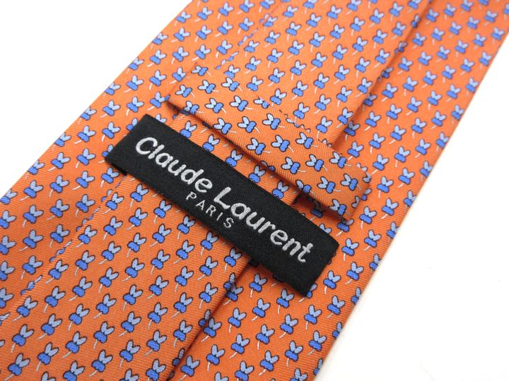 Claude Laurent Clough D Loran whole pattern tie quality goods men present only brand old clothes tie 1,000 yen ※Only as for the collect on delivery, in Okinawa, the remote island, the road pivot according to the postage is impossible