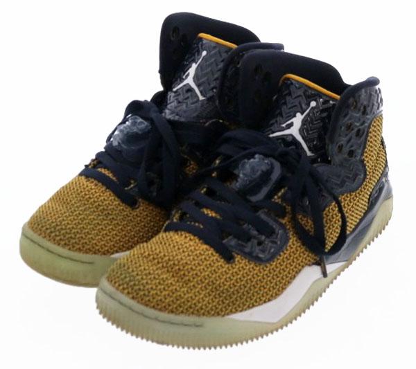 ナイキ NIKE エアジョーダン Air Jordan スパイク 40 バスケットボール 819952-706  ゴールド ネイビー  メンズ ブランド 【中古】【良品】