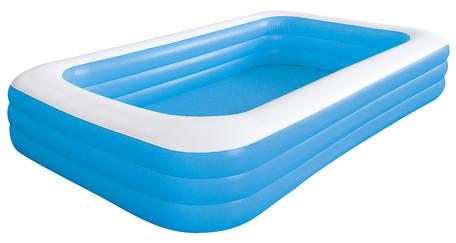家庭用プール キッズ おもちゃ JILOng ジャイアント レクタングル プール 305×183CM 水あそび ※fu
