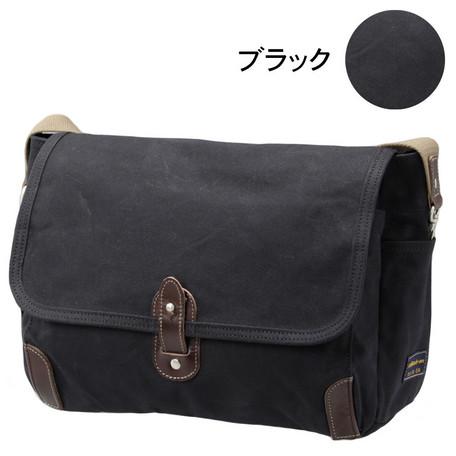 ショルダーバッグ メンズ バッグ Stitch-on ステッチオン 日本製 国産品 カブセ ショルダー 横型 M 帆布素材 肩掛け 鞄
