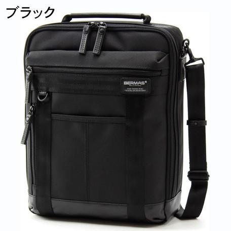 ブリーフケース メンズ バッグ BERMAS バーマス 11インチPC収納可能 BAUERIII ショルダー M ビジネスショルダー ビジネスバッグ 鞄