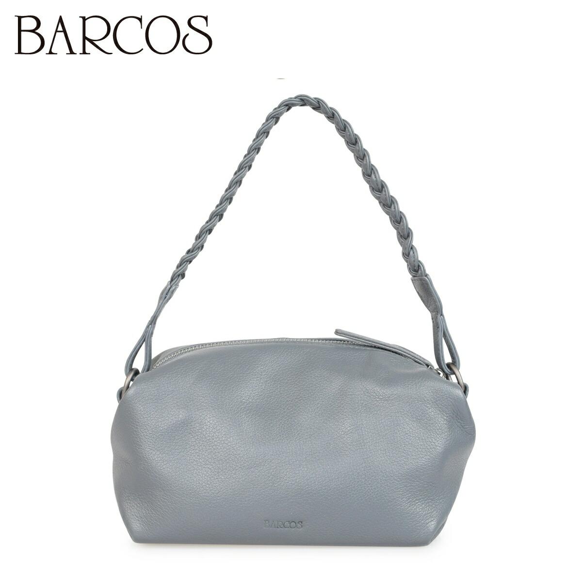 【送料無料】 バルコス バッグ レディース 本革 ハンドバッグ BARCOS レザー 編み込みハンドル カバン ショルダー