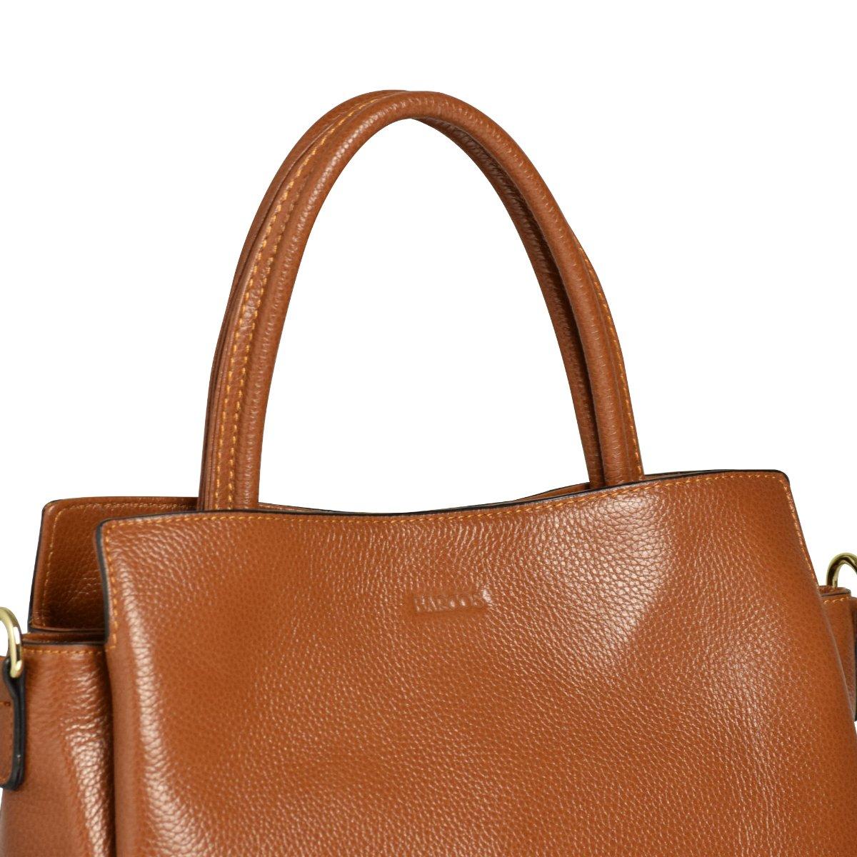 25da8107114c バルコスBARCOSハンドバッグショルダーバッグ2wayファスナー多収納ポケットシュリンクレザー本革バッグ鞄