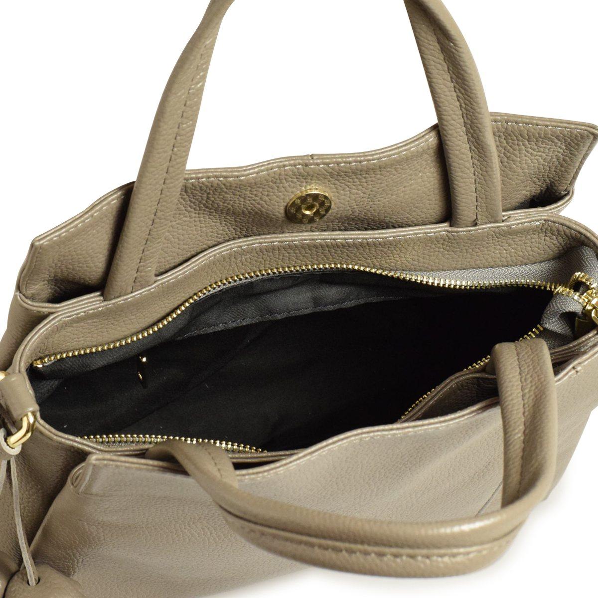 139a3c3f02ec ... バルコスBARCOSハンドバッグショルダーバッグ斜め掛け2wayレザー本革シュリンクレザーバッグ鞄カバン ...