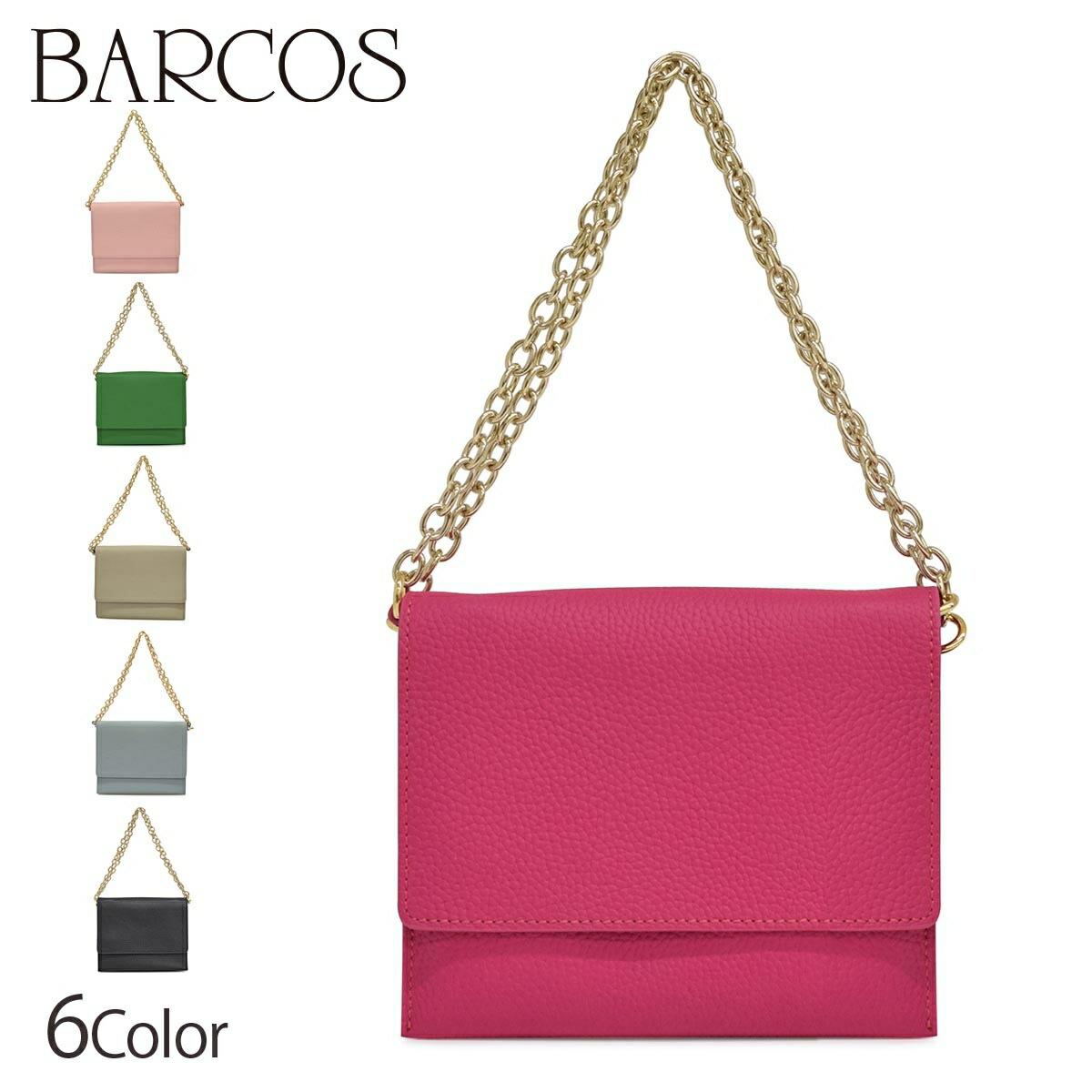 BARCOS ミニポシェット ウォレットバッグ 植松晃士×BARCOS A レディース 全6色 ONESIZE バルコス