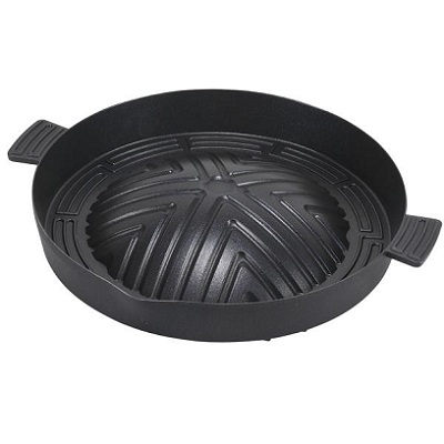 アルミ鋳物製 深型 40%OFFの激安セール ジンギスカン鍋28cm パール金属 ふっ素樹脂加工 捧呈 HB-5778