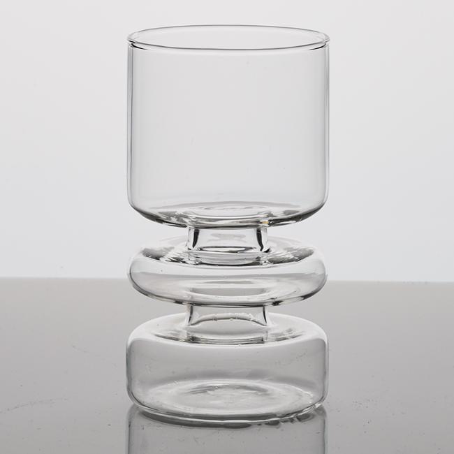 ユニークなシリンダー型 クリアガラスの一輪挿し シリンダーベイス X ≪植木鉢 ガーデン雑貨 インテリア≫ 予約販売品 本物◆ おしゃれ フラワーベース かわいい ガラス 一輪挿し