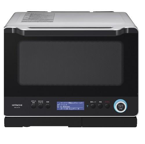 日立 MRO-W10X-H(メタリックグレー) スマホで繋がるヘルシーシェフ 過熱水蒸気オーブンレンジ 30L キュッシュレス5%還元対象