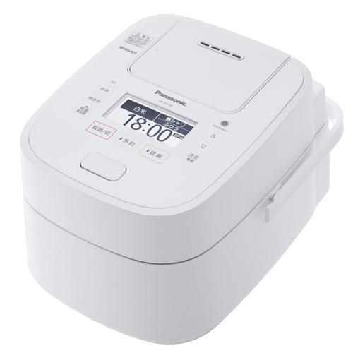 パナソニック SR-VSX108-W/ホワイト スチーム&可変圧力IHジャー炊飯器(5.5合炊き) Wおどり炊き【送料無料】
