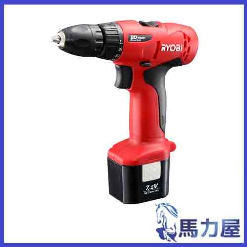 リョービ 充電式ドライバドリル 7.2V BD-7200