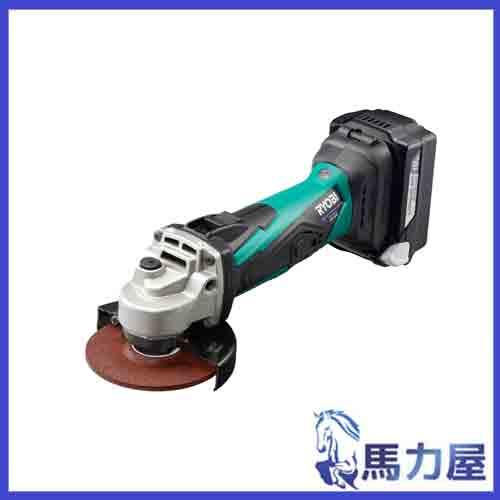 リョービ 充電式ディスクグラインダ BG-1810L5 18V
