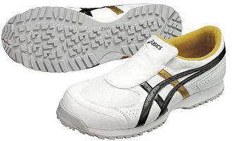 アシックス 安全靴 ウィンジョブ36S 【FIS36S】 22.5cm 『ホワイト×ブラック 0190』