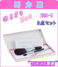 【正規品】竹宝堂 オリジナルギフト 3点セット  パウダー ・ アイシャドー ・ リップ ・化粧箱   br-1