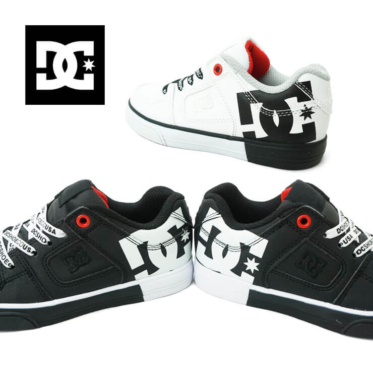 DC SHOES YOUTH PURE ELASTIC SE SN キッズ スニーカー dk194010
