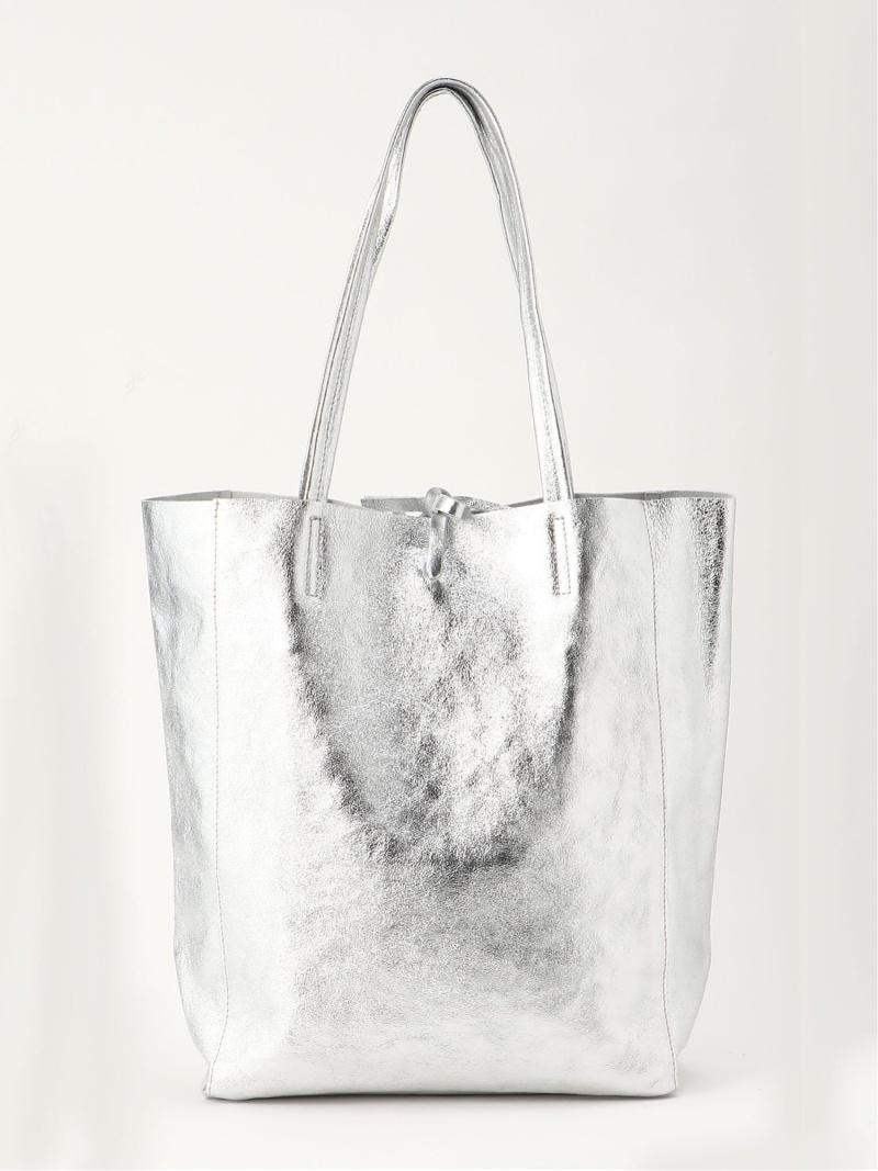 Rakuten Fashion ソフトメタリックトート BARNYARDSTORM バンヤードストーム バッグ トートバッグ シルバー 送料無料TFKJlc1