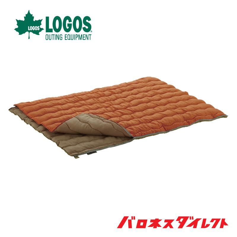 LOGOS(ロゴス) 2in1・Wサイズ丸洗い寝袋・2 キャンプ 防災 シュラフ【あす楽対応】【店頭受取対応商品】