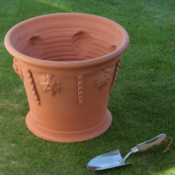/在庫限り/ウィッチフォード アイシクル ポット 直径38センチ(約12.5号鉢) Whichford 英国製植木鉢 イギリス 【送料無料】【店頭受取対応商品】