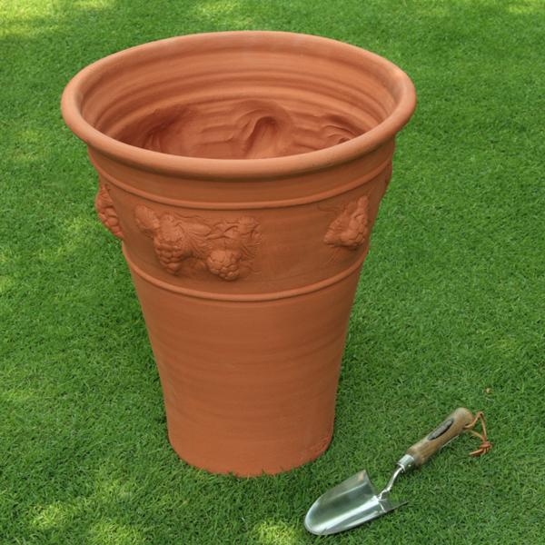 /在庫限り/ウィッチフォード ヴァイン ポット 直径48センチ(約16号鉢) Whichford 英国製植木鉢 イギリス 【送料無料】【店頭受取対応商品】