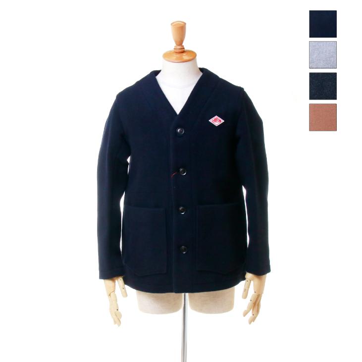 DANTON(ダントン) メンズ ウールモッサー ノーカラー ジャケット JD-8904 日本正規代理店商品