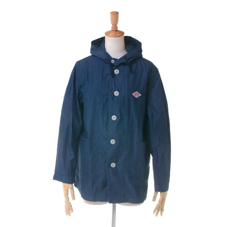 DANTON(ダントン) レディース デニム フーデッド フードジャケット JD-8777 DIN 日本正規代理店商品
