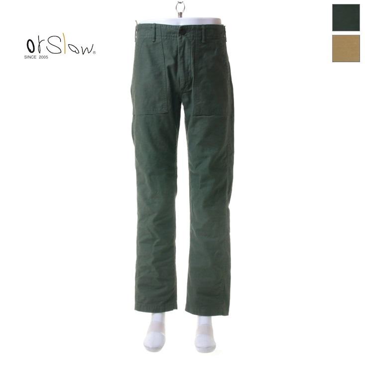 Orslow(オアスロウ) メンズ US SLIM FIT スリムフィット ファティーグパンツ 01-5032