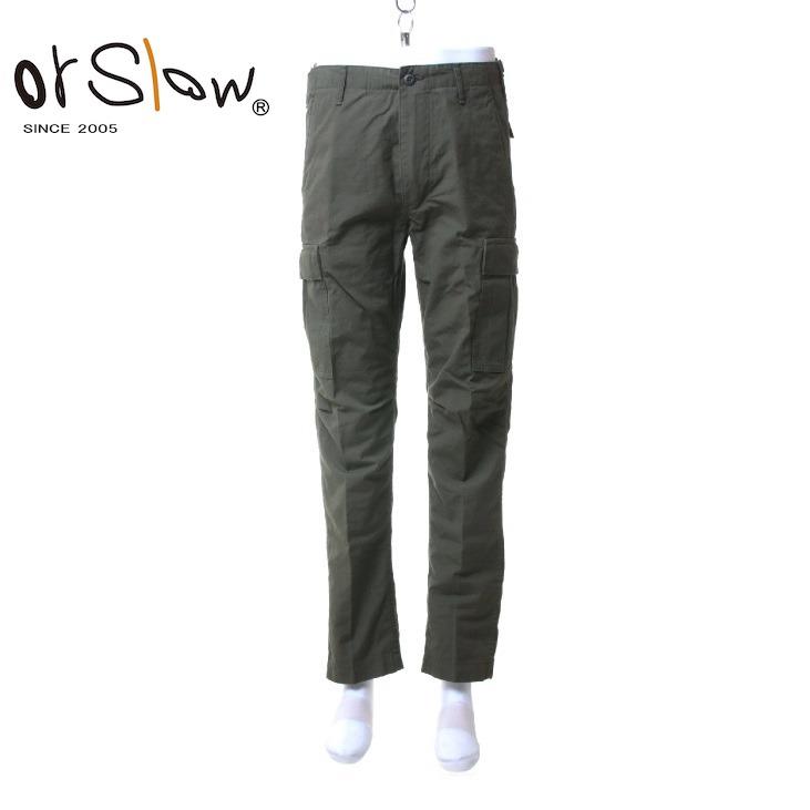 Orslow(オアスロウ) メンズ 6ポケット リップストップ カーゴパンツ 6P RIPSTOP CARGO PANTS 01-5260RIP